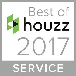 Bert Henry receives Houzz Best of Service Award for 2017