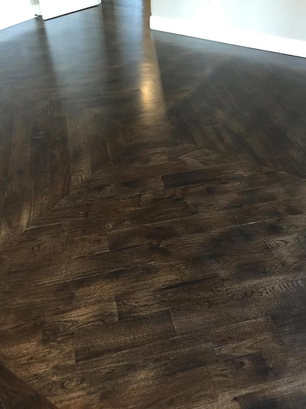 Completed Hardwood Flooring Project by Bert Henry Carpet & Tile in Tulsa